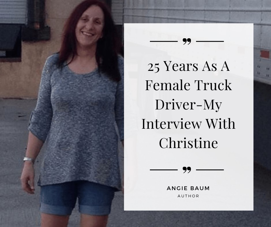 BCP Driver Christine Seelbach talks about life on the road…..